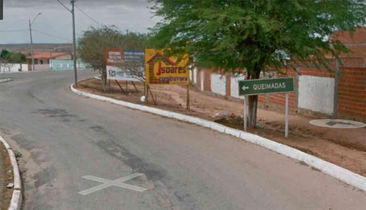 O corpo foi achado em uma estrada que liga a cidade ao povoado de Jacuri da Ponte - Foto: Reprodução | Google Maps