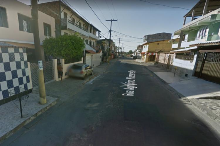 Crime ocorreu na rua Agripino Nazareth, em Salvador - Foto: Google Street View