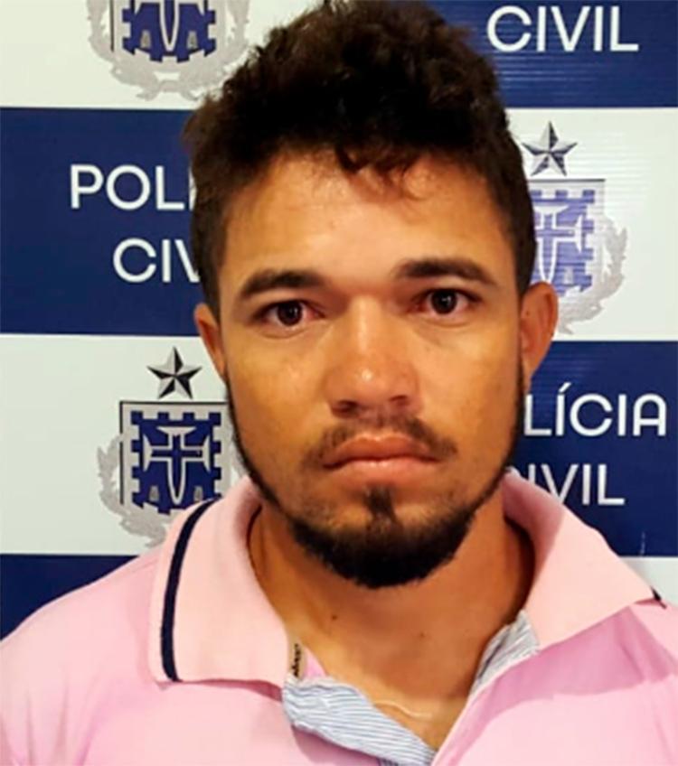 Irisvaldo de Souza Santana deverá ser transferido para o estado do Rio de Janeiro, onde o crime foi cometido - Foto: Divulgação | Polícia Civil