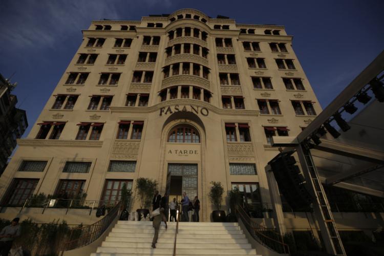 Políticos prestigiam evento no histórico prédio de A TARDE - Foto: Adilton Venegeroles l Ag. A TARDE