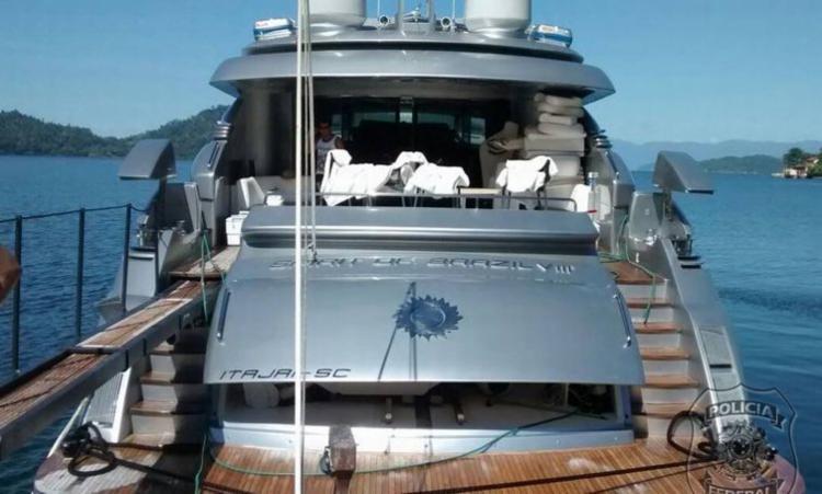 Lance mínimo para a embarcação caiu de R$ 18 milhões para R$ 14 milhões - Foto: Divulgação | Polícia Federal