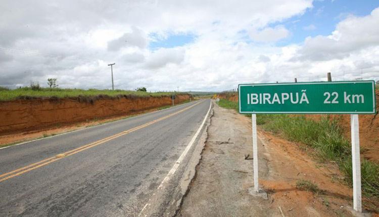 As vítimas foram liberadas em uma estrada que liga a cidade onde aconteceu o crime ao município de Medeiros Neto - Foto: Divulgação