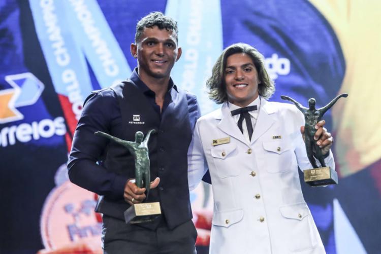 Isaquias Queiroz e Ana Marcela Cunha foram escolhidos como atletas do ano pelo COB - Foto: Wander Roberto | Exemplus | COB