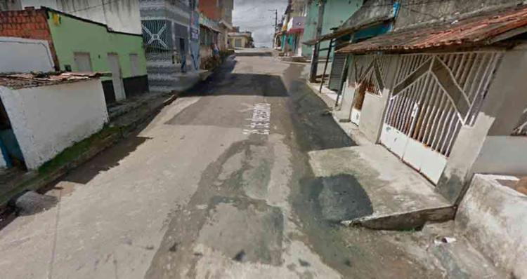 O menino foi atropelado por ônibus na Rua Nova Ferradas - Foto: Reprodução | Google Maps