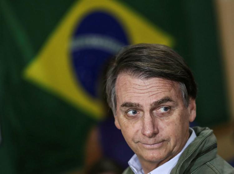 Jair Bolsonaro será o 38º presidente da República, eleito em 28 de outubro com 57,79 milhões de votos no segundo turno - Foto: Ricardo Moraes | AFP