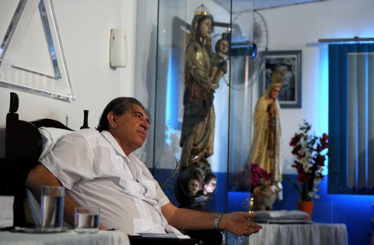 Justiça determinou a prisão preventiva de João de Deus nesta sexta-feira, 14 - Foto: Pedro Ladeira l AFP