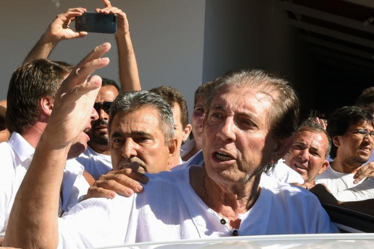 O médium está preso no Complexo Penitenciário de Aparecida de Goiânia desde o último domingo, 16 - Foto: Evaristo Sá l AFP