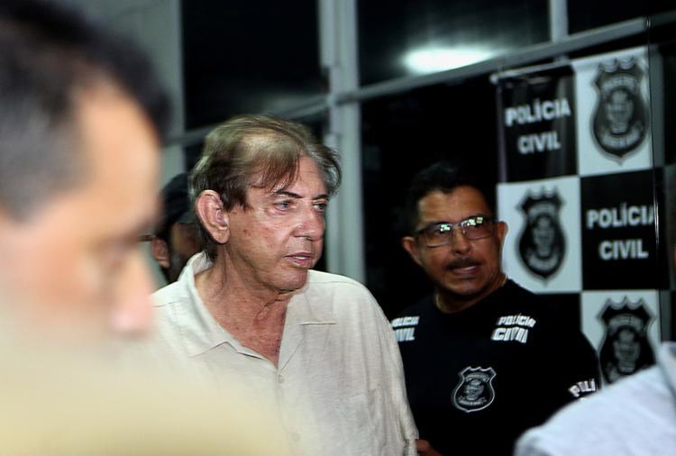 O médium está preso desde o último domingo, 16, no Complexo Prisional de Aparecida de Goiânia - Foto: Ernesto Rodrigues l Estadão Conteúdo