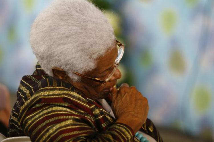 Mãe Stella morreu na tarde desta quinta-feira, 28 - Foto: Xando Pereira | Ag. A TARDE