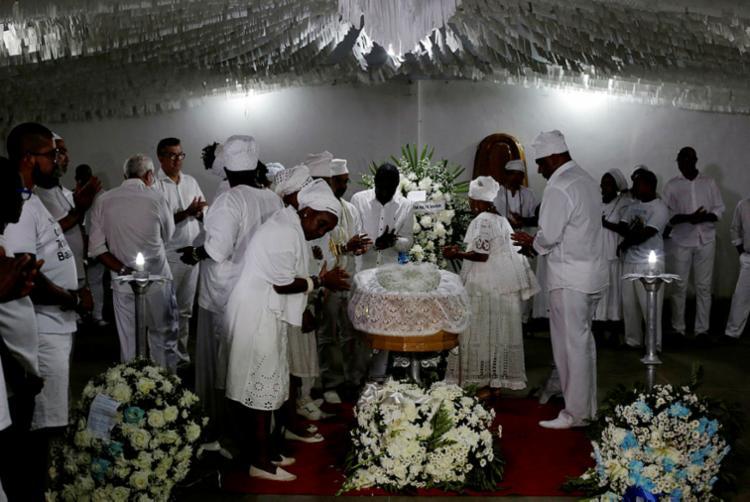 Mãe Stella morreu na tarde da quinta-feira, 27, em Nazaré - Foto: Adilton Vegeneroles | Ag. A TARDE