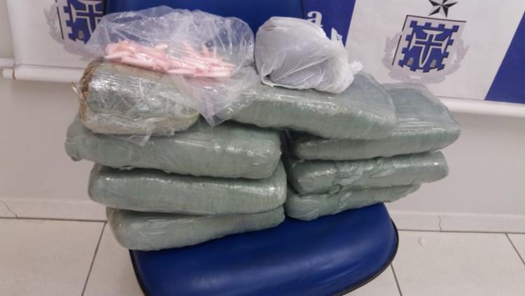 As drogas foram localizadas em um condomínio por agentes da 13ª DT - Foto: Divulgação l Polícia Civil