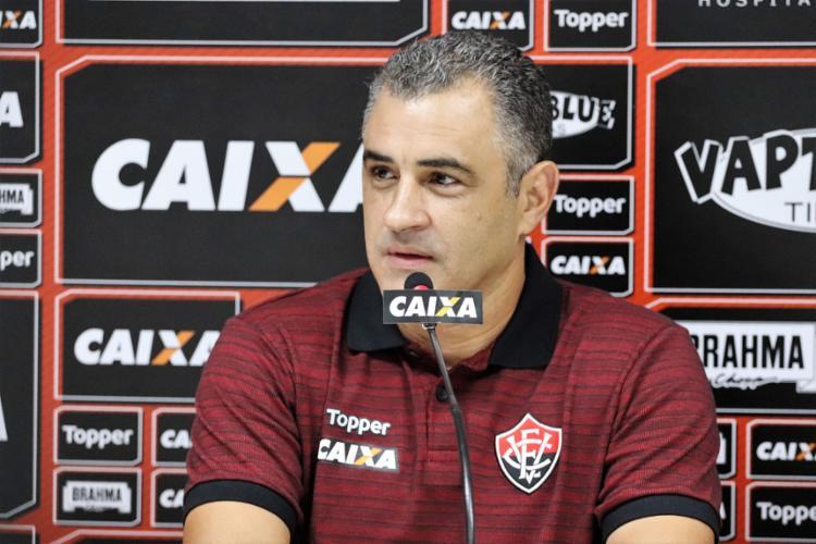 Acerto com o clube vai até o fim da Série B, em novembro do próximo ano - Foto: Maurícia da Matta l EC Vitória
