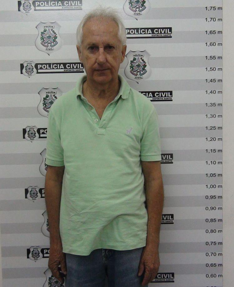 Marcos Venicio Moreira Andrade, 66, foi ex-assessor de Camata por cerca de 20 anos - Foto: Divulgação l Polícia Civil do Espírito Santo
