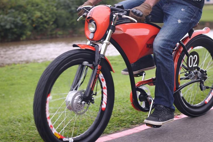 As bicicletas serão fornecidas pela startup de locação E-moving e a ALD instalará pequenos totens para carregamento de bateria, além de fornecer capacetes - Foto: Divulgação