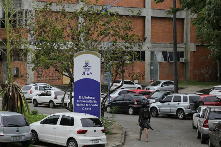 A mesa de diálogo será realizada na reitoria da Universidade Federal da Bahia (Ufba), nesta quinta-feira, 13 - Foto: Joá Souza | Ag. A TARDE