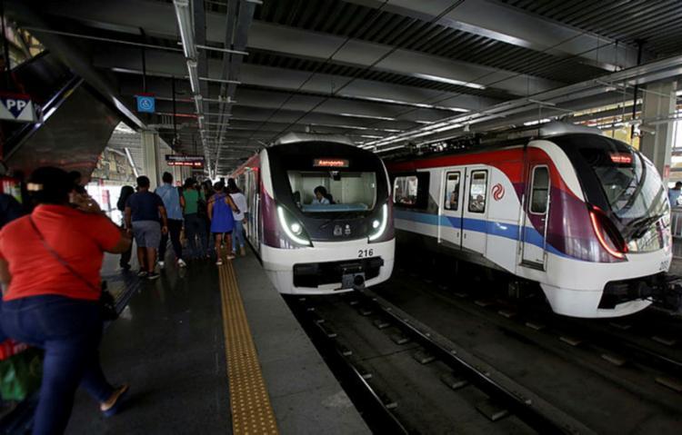 O Sistema Metroviário de Salvador e Lauro de Freitas vai operar com esquema especial, entre os dias 29 de dezembro e 1º janeiro - Foto: Adilton Venegeroles | Ag. A TARDE