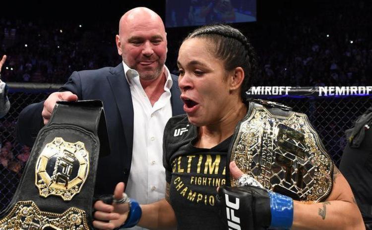 Presidente do UFC rasgou elogios à brasileira após nocaute no primeiro round - Foto: Divulgação | UFC