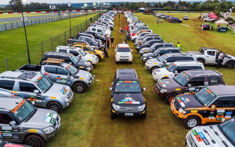 Rali Mitsubishi de Regularidade reuniu 350 veículos - Foto: Divulgação