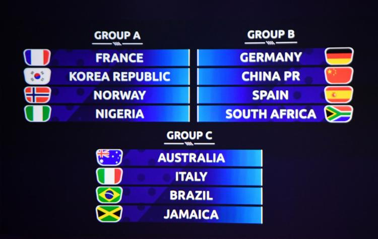 Além das algozes das brasileiras no Mundial de 2015, Itália e Jamaica também compõem o Grupo C - Foto: Franck Fife l AgFP