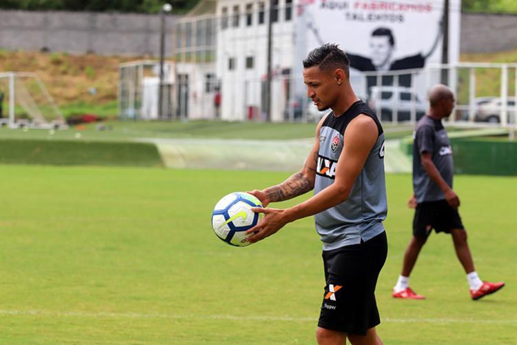 Neilton fez 56 partidas pelo Leão da Barra em 2018 e marcou 21 gols - Foto: Mauricia da Matta | EC Vitória