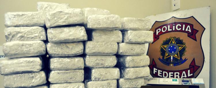 A Operação Sicília tem o objetivo de desarticular organização criminosa especializada no tráfico internacional de drogas - Foto: Divulgação | PF