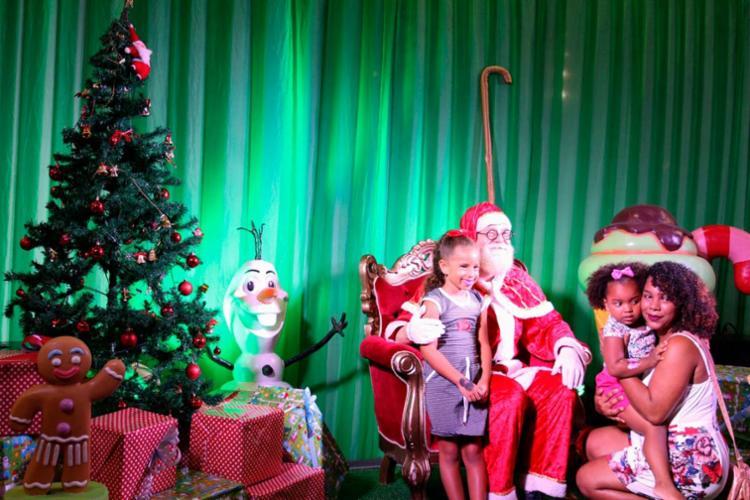Chegada do Papai Noel será o ponto alto do evento na Fonte Nova - Foto: Hilso Junior   Divulgação   Arquivo