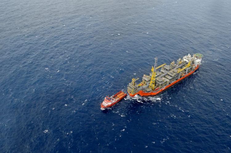 De novembro do ano passado para este ano, o navio-plataforma produziu mais de 58 mil barris de óleo equivalente por dia - Foto: Divulgação
