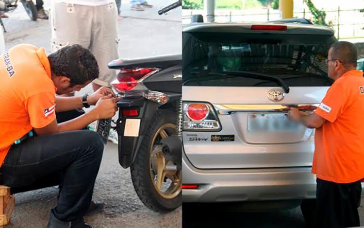 Serviço é válido para veículos novos e em casos de transferências - Foto: Divulgação | Detran-BA