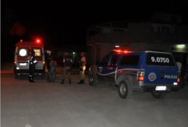 Os homens envolvidos na briga fugiram do local antes da chegada da policia. - Foto: Foto: Divulgação   RADAR 64