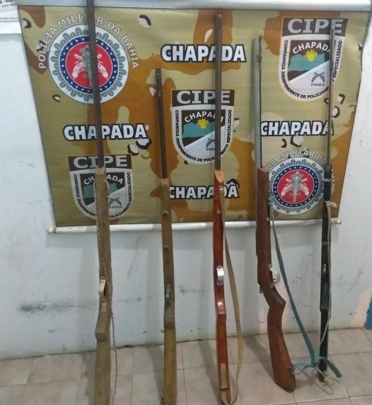 Material apreendido pela polícia no povoado Pau Ferro - Foto: Divulgação   SSP-BA