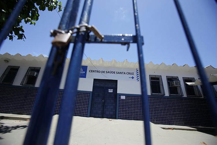 Unidade está sem previsão de retorno para o funcionamento - Foto: Joá Souza | Ag. A TARDE
