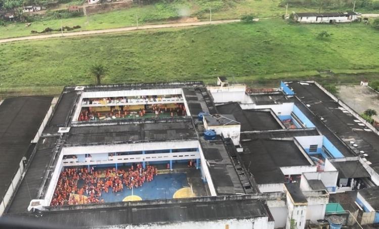 Operação no presidio de Itabuna apreende armas e drogas - Foto: Divulgação | SSP- BA