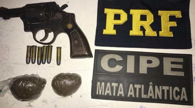 O flagrante aconteceu durante fiscalização no trecho de Nova Viçosa - Foto: Divulgação l PRF
