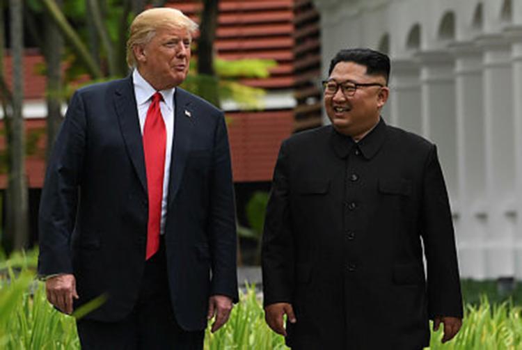A desnuclearização da península da Coreia também foi reafirmada durante a cupula