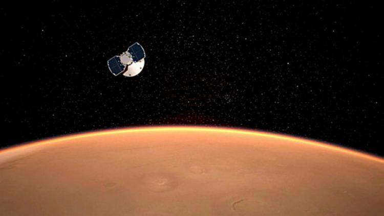 A sonda espacial levou sete meses para chegar ao destino e coletar amostras do solo e estudar abalos sísmicos