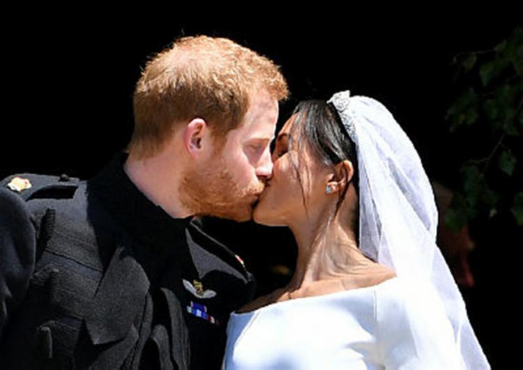 O príncipe Harry e a ex-atriz americana Meghan Markle casaram em meio a muitas polêmicas - Foto: Ben Stansall | Divulgação | AFP