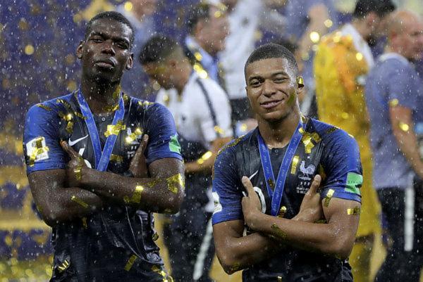 A França bateu a Croácia por 4 a 2 e se consagrou bicampeã mundial