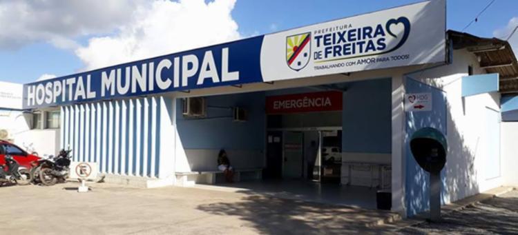 Andres Torres foi socorrido para hospital de Teixeira de Freitas - Foto: Reprodução   Site Teixeira News