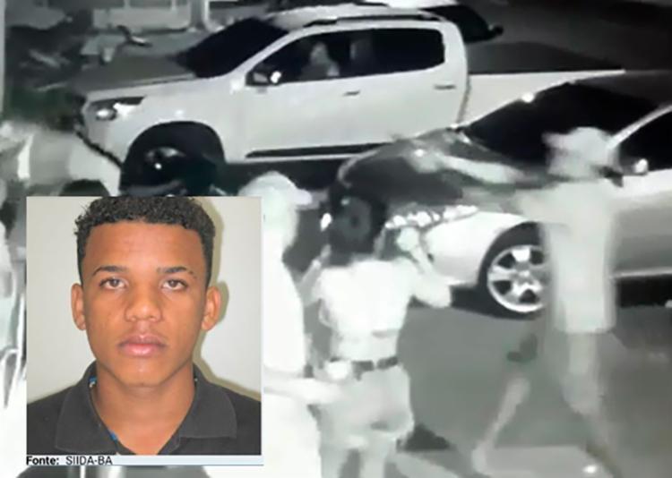 Luís Fernando foi identificado com a ajuda das câmeras de segurança do local - Foto: Divulgação | Polícia Civil