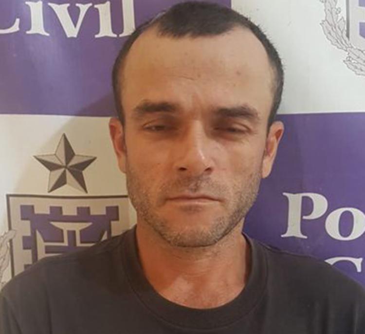 Vanderlei Pereira de Andrade é suspeito de matar o radialista Francisco Adão da Silva - Foto: Divulgação   SSP