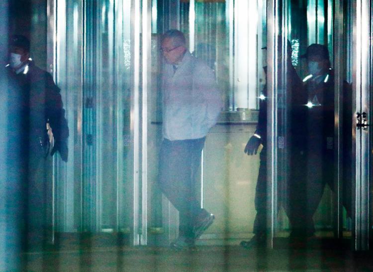 Greg é acusado de irregularidades cometidas juntamente com o ex-presidente da montadora, o brasileiro Carlos Ghosn - Foto: Jiji Press | AFP