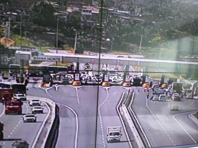 Manifestação atinge os dois sentidos da rodovia - Foto: Divulgação | Bahia Norte