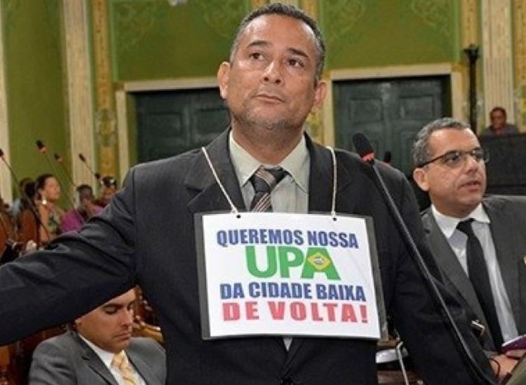 Vado Malassombrado foi visto pela última na manhã da segunda-feira, 3 - Foto: Divulgação l Câmara Municipal de Salvador