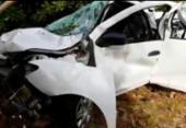 Duas crianças morrem e três adultos ficam feridos em acidente na Linha Verde | Foto: Reprodução | TV Bahia
