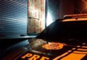 Caminhão com R$ 1 milhão em cigarros clandestinos é apreendido em Jequié | Foto: Divulgação | PRF-BA