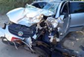 Três pessoas morrem e duas ficam feridas após colisão na BA-001 | Foto: Reprodução | site Liberdade News