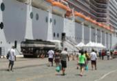 Bahia lucra com temporada de navios | Foto: Luciano da Matta | Ag. A TARDE