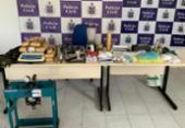 Polícia desmonta laboratório de drogas em Salvador | Foto: Divulgação | Polícia Civil