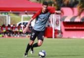 Zagueiro Gabriel Silva analisa jogo-treino da equipe Sub-23 | Foto: Maurícia da Matta | EC Vitória