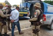 Suspeito de estelionato e tráfico de drogas é detido em Seabra | Foto: Divulgação | PRF